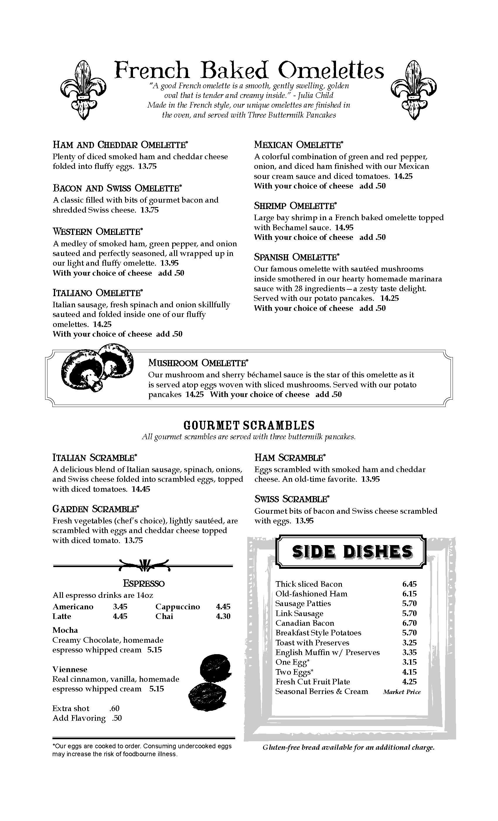The Oak Table Cafe Silverdale WA - Oak table restaurant silverdale